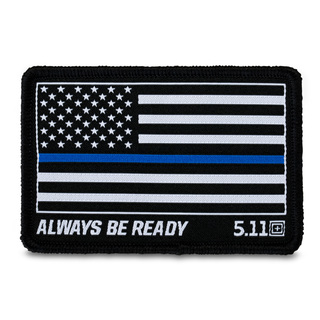5.11 Tactical Thin Blue Line Patch-