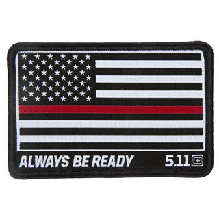 5.11 Tactical Thin Red Line Patch-