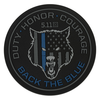5.11 Tactical Back The Blue Patch-