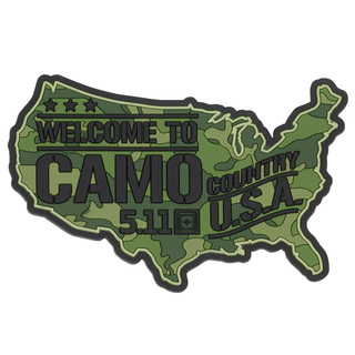 5.11 Tactical Camo Country Patch-
