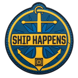 5.11 Tactical Ship Happens Patch-