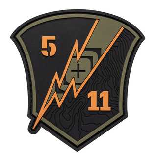 5.11 Tactical Thunder Shield Patch-
