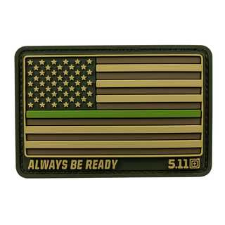 5.11 Tactical Thin Green Line Patch-