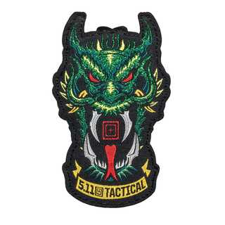 5.11 Tactical Green Dragon Patch-