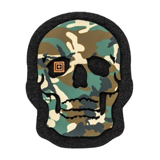 5.11 Tactical Painted Camo Skull Patch-