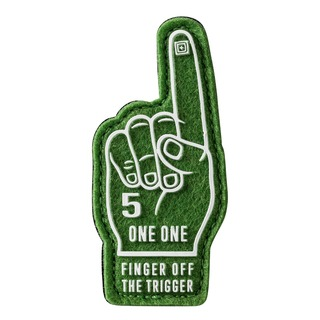 5.11 Tactical Finger Off The Trigger Patch-