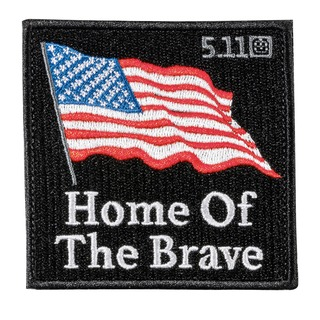 5.11 Tactical Home Of The Brave Flag Patch-