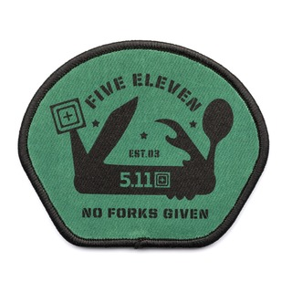 5.11 Tactical No Forks Given Patch-