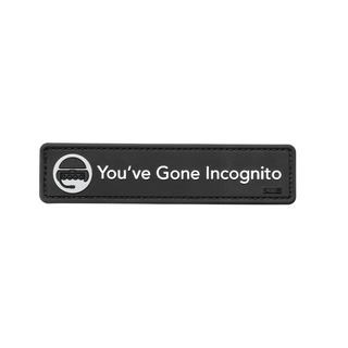 5.11 Tactical YouVe Gone Incognito Patch-