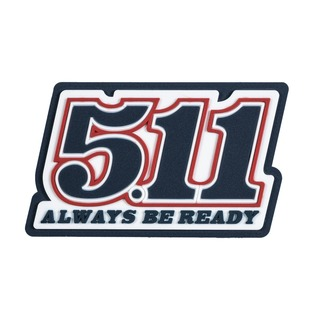5.11 Tactical Number Plate Patch-5.11 Tactical