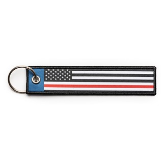 5.11 Tactical Thin Red Line Keychain-511