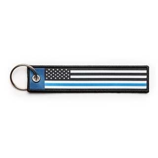 5.11 Tactical Thin Blue Line Keychain-511