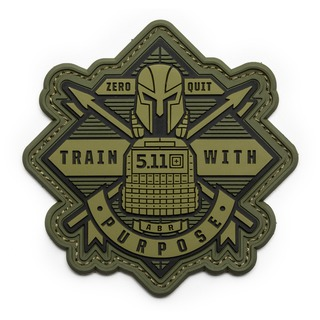5.11 Tactical Train With Purpose Patch-