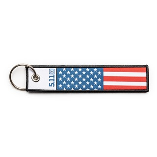 5.11 Tactical American Flag Keychain-