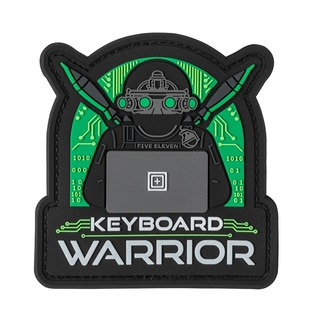 5.11 Tactical Keyboard Warrior Patch-5.11 Tactical