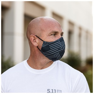 5.11 Tactical Comfort Mask - 2 Pack Printed-5.11 Tactical