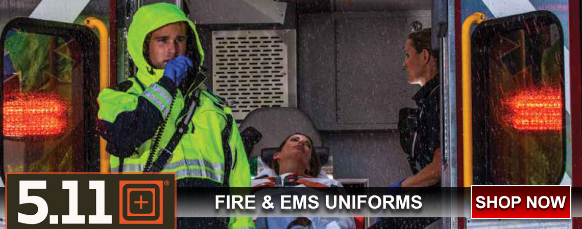 5.11 Tactical EMS uniforms