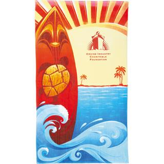 14 Lb. Surf Board Beach Towel