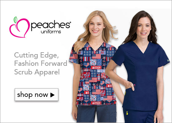 Peaches Scrub Uniforms