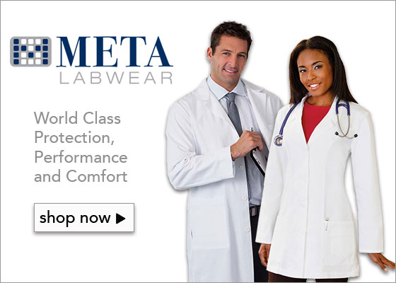 White Swan META lab coats