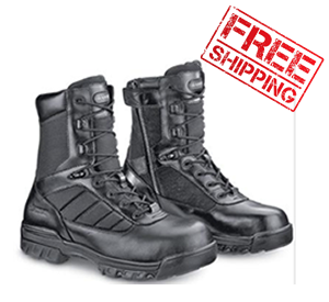 "Mens 8"" Tactical Sport Side Zip Boot_special-Bates Footwear"