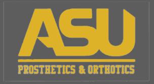 ASU Prosthetics & Orthotics