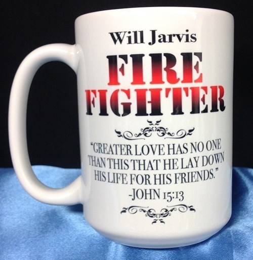 Firefighter  Coffee Mug-PU