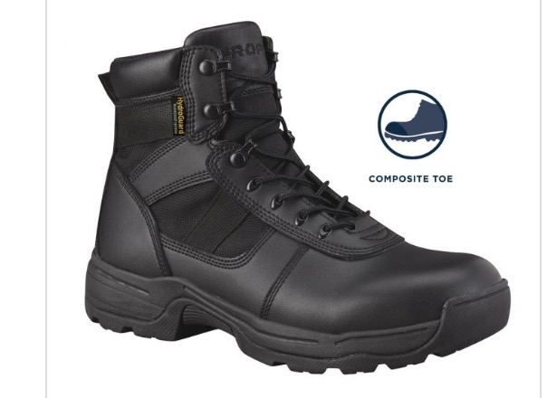 "PROPPER SERIES 100 6"" WATERPROOF SIDE ZIP BOOT COMP TOE-"