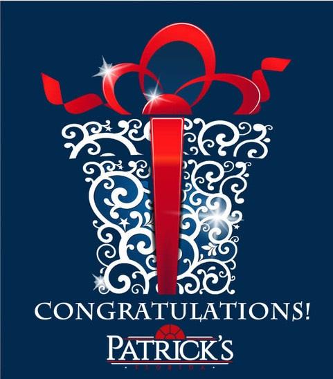 Patricks Gift Card-Patricks