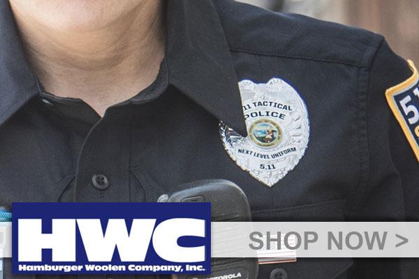 Hamburger Woolen Co. inc (HWC) Badges and Emblems