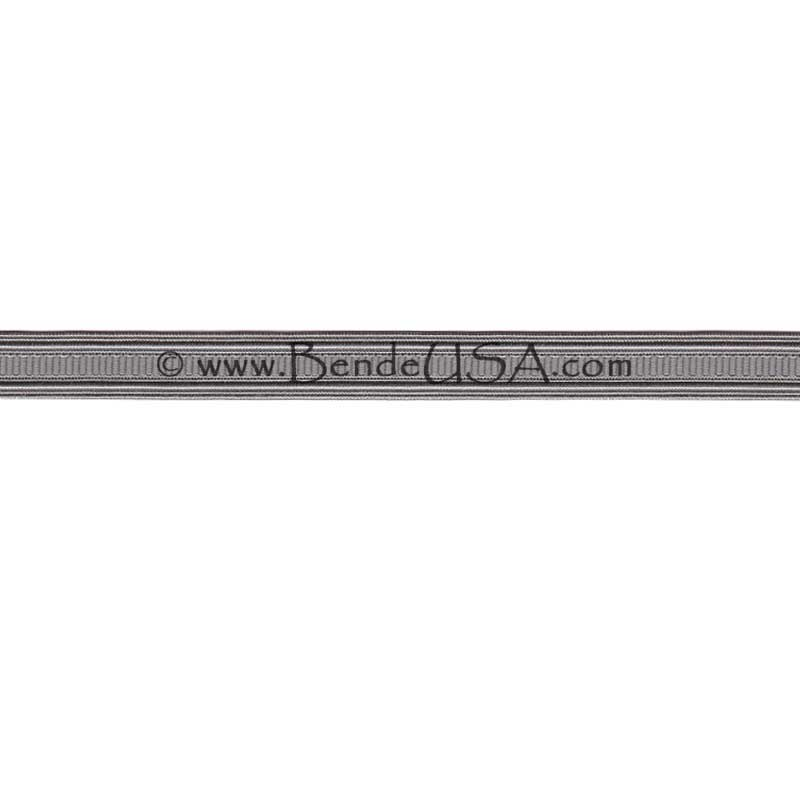 "Non-Metallic Braid 1/2"" Silver Grey-Hessberg USA"