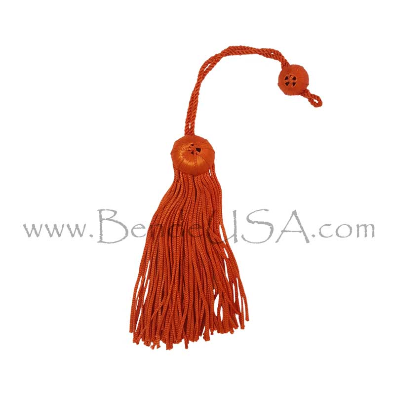 Closeout Doctoral Tam Tassel - Orange-Hessberg USA