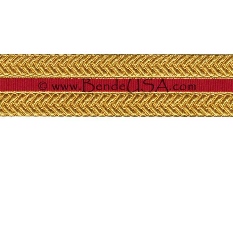 "Closeout 1 1/2"" USMC Braid-Hessberg USA"