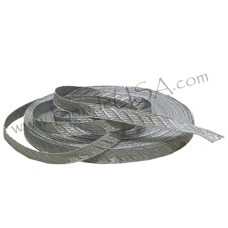 "Closeout Metallic CND Braid 1/2"" Aluminum-Hessberg USA"