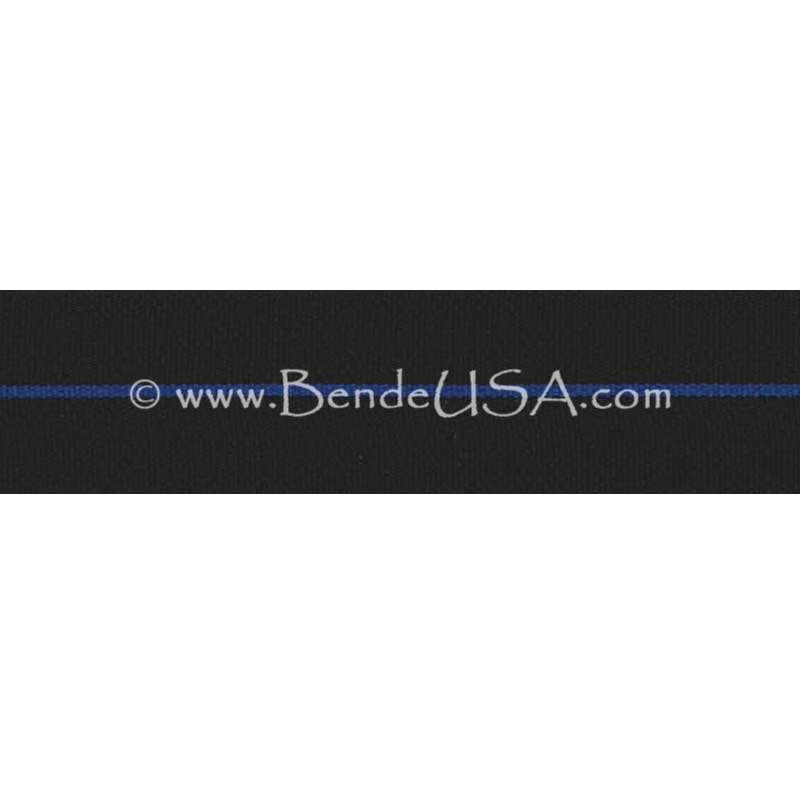 "Thin Blue Line Ribbon 1 3/8""-Hessberg USA"