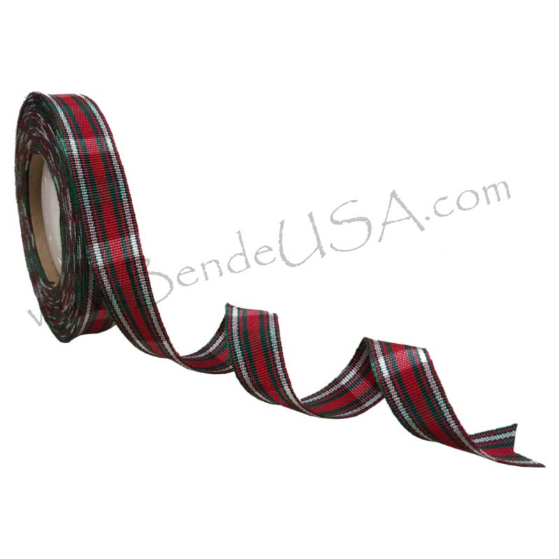 "Holiday Grosgrain Ribbon 5/8""-Hessberg USA"