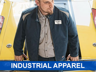 Visit our Industrial Apparel section