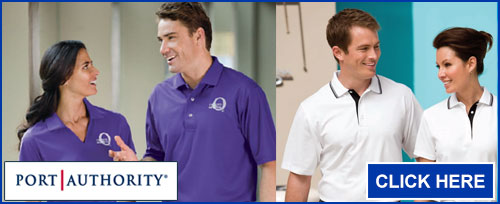 Click here for Port Authority Polos and Knits Shirts
