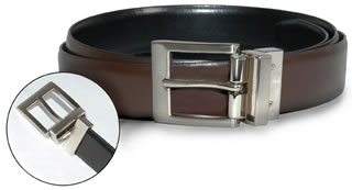 Reversible Leather Dress Belt-Samuel Broome