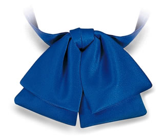 Polyester Satin Banded Manager Bow-