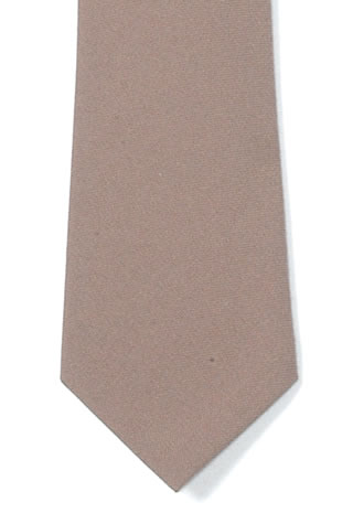 "Polyester 3"" necktie with Buttonholes"