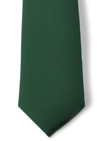 "Polyester 3.5"" Necktie with Buttonholes"