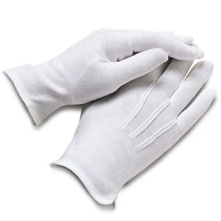 Women's Nylon Slip-on Dress Gloves-Samuel Broome