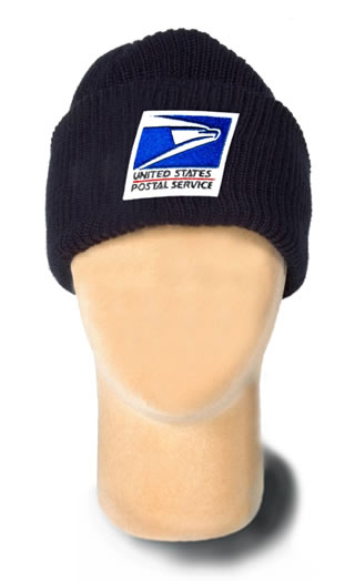 USPS Acrylic Knit Cap with Face Mask