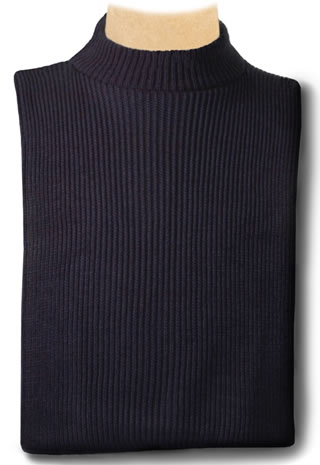 USPS Acrylic Knit Mock Turtleneck Dickey-Samuel Broome