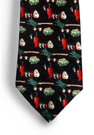 Vegetable Necktie-