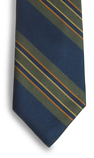 Billings Stripe Necktie-Samuel Broome