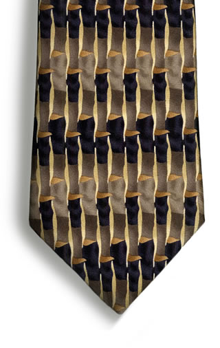 Watercolor Necktie-