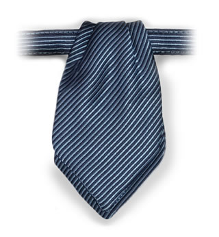 Russell Stripe Pointed Mini Ascot-Samuel Broome