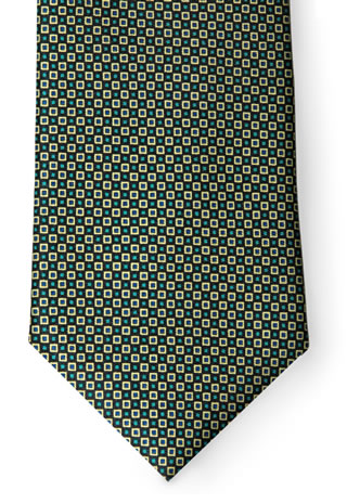 Checkerboard Necktie-Samuel Broome